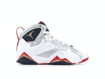 Air Jordan 7 Retro GS Olympic 2012