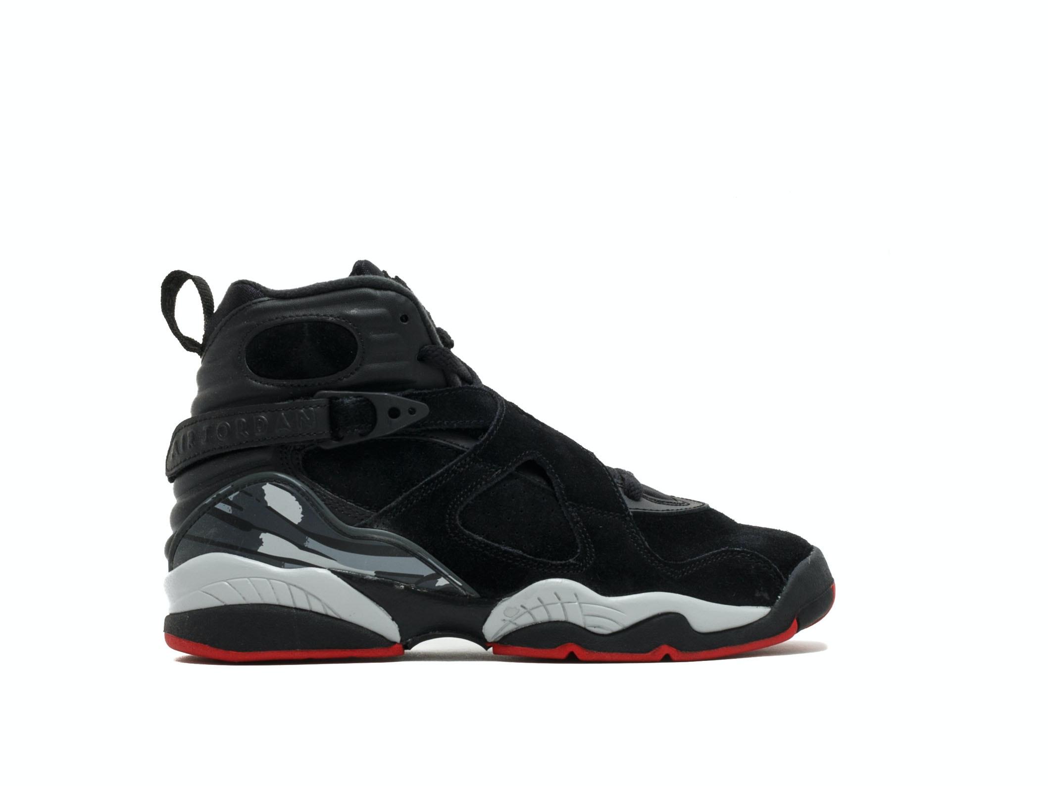 0c37e71c69b5 Shop Air Jordan 8 Retro GS Bred Online