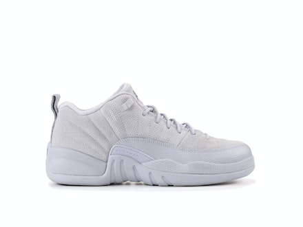 Air Jordan 12 Retro Low GS Wolf Grey
