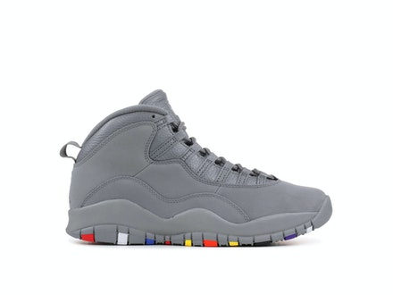 Air Jordan 10 Retro Cool Grey 2018