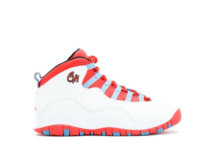 Air Jordan 10 Retro BG Chicago 2016