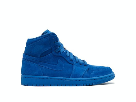 Air Jordan 1 Retro High Blue Suede