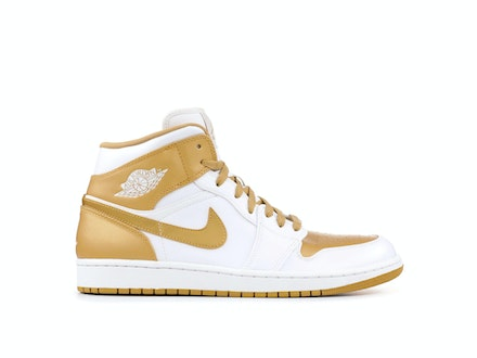 Air Jordan 1 Phat White Metallic Gold
