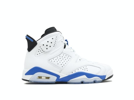 Air Jordan 6 Retro Sport Blue 2014
