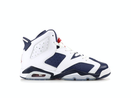 Air Jordan 6 Retro GS Olympic 2012