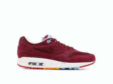 new concept 7db93 24596 Air Max 1 Premium Cherrywood x Patta x Parra