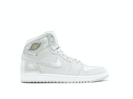 quality design b4370 b7ddd Air Jordan 1 Retro Hi Silver 25th Anniversary