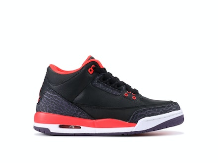 Air Jordan 3 Retro GS Crimson