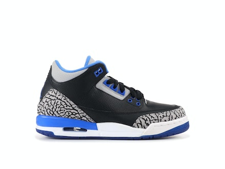 Air Jordan 3 Retro BG Sport Blue