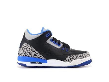 Air Jordan 3 Retro BG Sport Blue