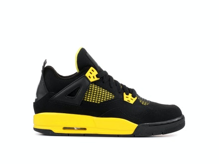 Air Jordan 4 Retro GS Thunder 2012