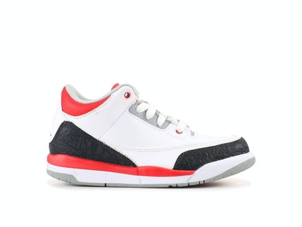 Air Jordan 3 Retro PS 2013 Fire Red