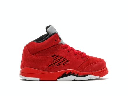 Air Jordan 5 Retro TD Red Suede