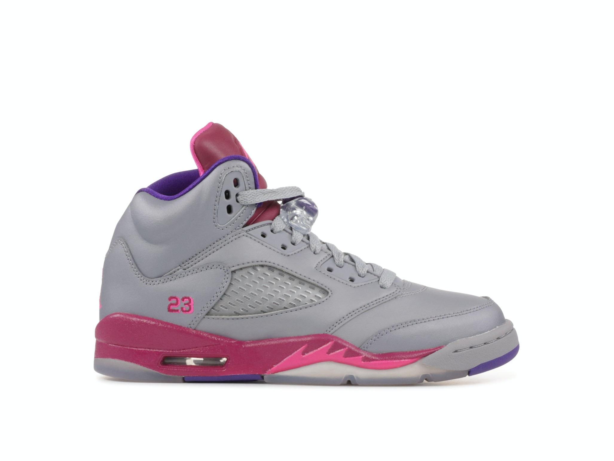brand new f75fe ccef4 Air Jordan 5 Retro GS Cement Grey Pink
