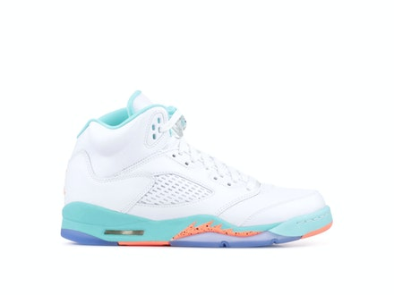 Air Jordan 5 Retro GS Light Aqua