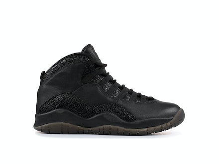 Air Jordan 10 Retro 2014 Black x OVO