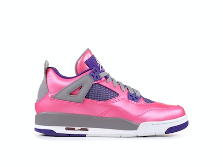 Air Jordan 4 Retro GS Pink Foil