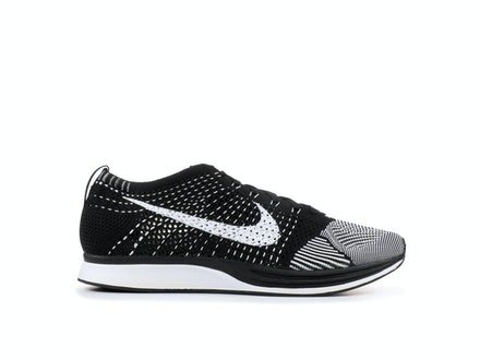 Flyknit Racer Black Tongue