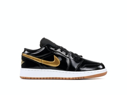 Air Jordan 1 Low GS Metallic Gold