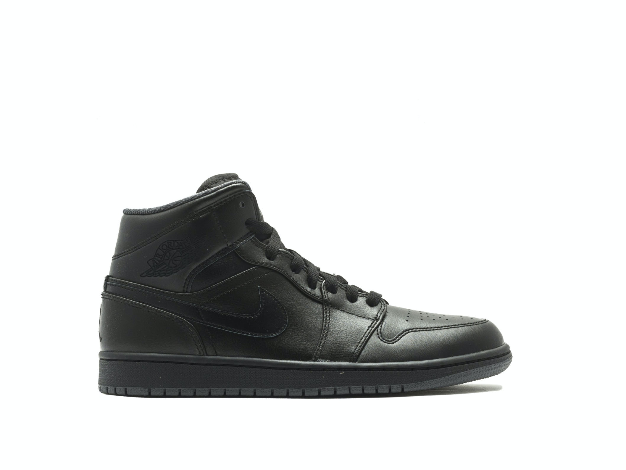 a90609a0a773 Shop Air Jordan 1 Retro Mid 2016 Black Online