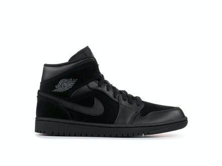 Air Jordan 1 Mid 2018 Triple Black
