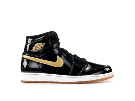 Air Jordan 1 Retro High OG Black and Gold