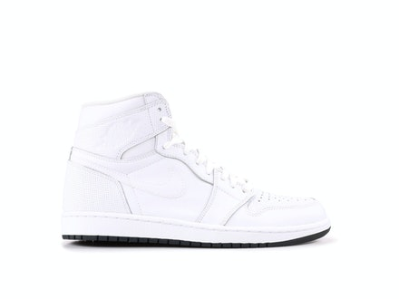 Air Jordan 1 Retro High OG White Perforated