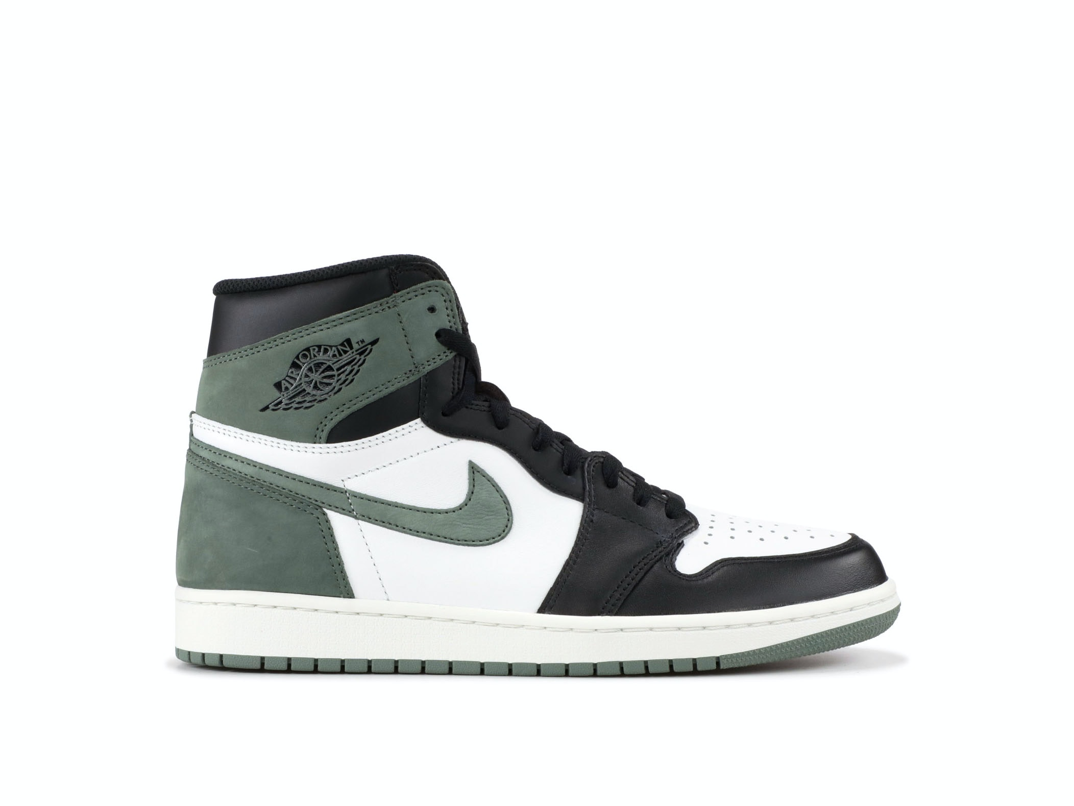 80123d2b5d0 Shop Air Jordan 1 Retro High OG Clay Green Online   Laced