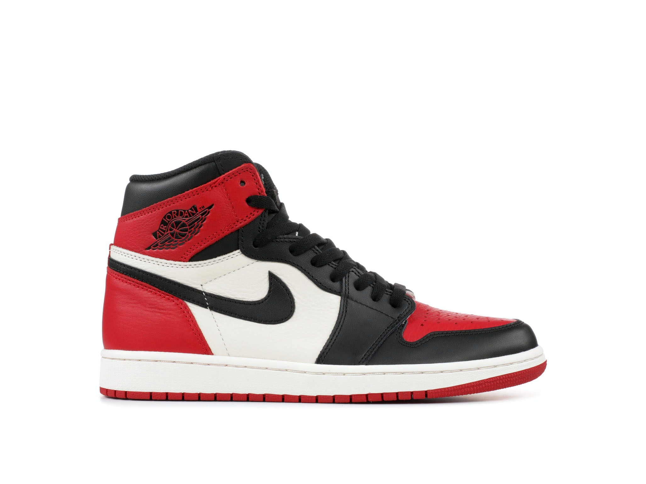 dec543ca4b89 Shop Air Jordan 1 Retro High OG Bred Toe Online