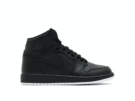 Air Jordan 1 Retro High OG GS Black Perforated