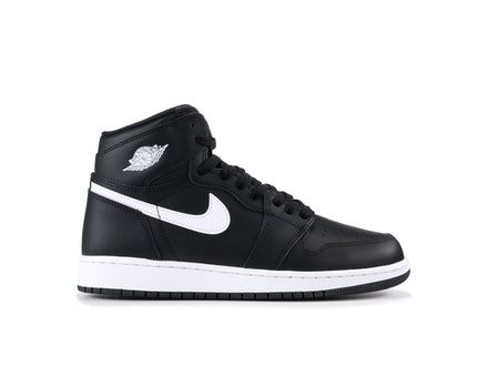 Air Jordan 1 Retro High OG BG Yin Yang Black