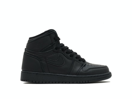 Air Jordan 1 Retro High OG BG Essentials Black