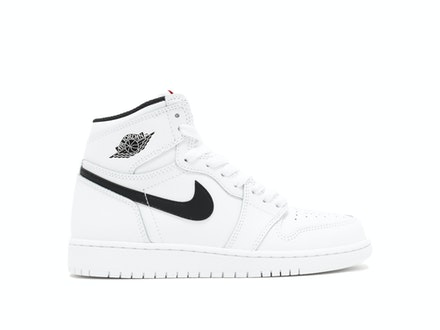 Air Jordan 1 Retro High OG BG Yin Yang White