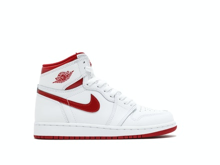 Air Jordan 1 Retro High OG GS Metallic Red