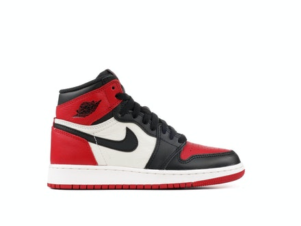 Air Jordan 1 Retro High OG BG Bred Toe