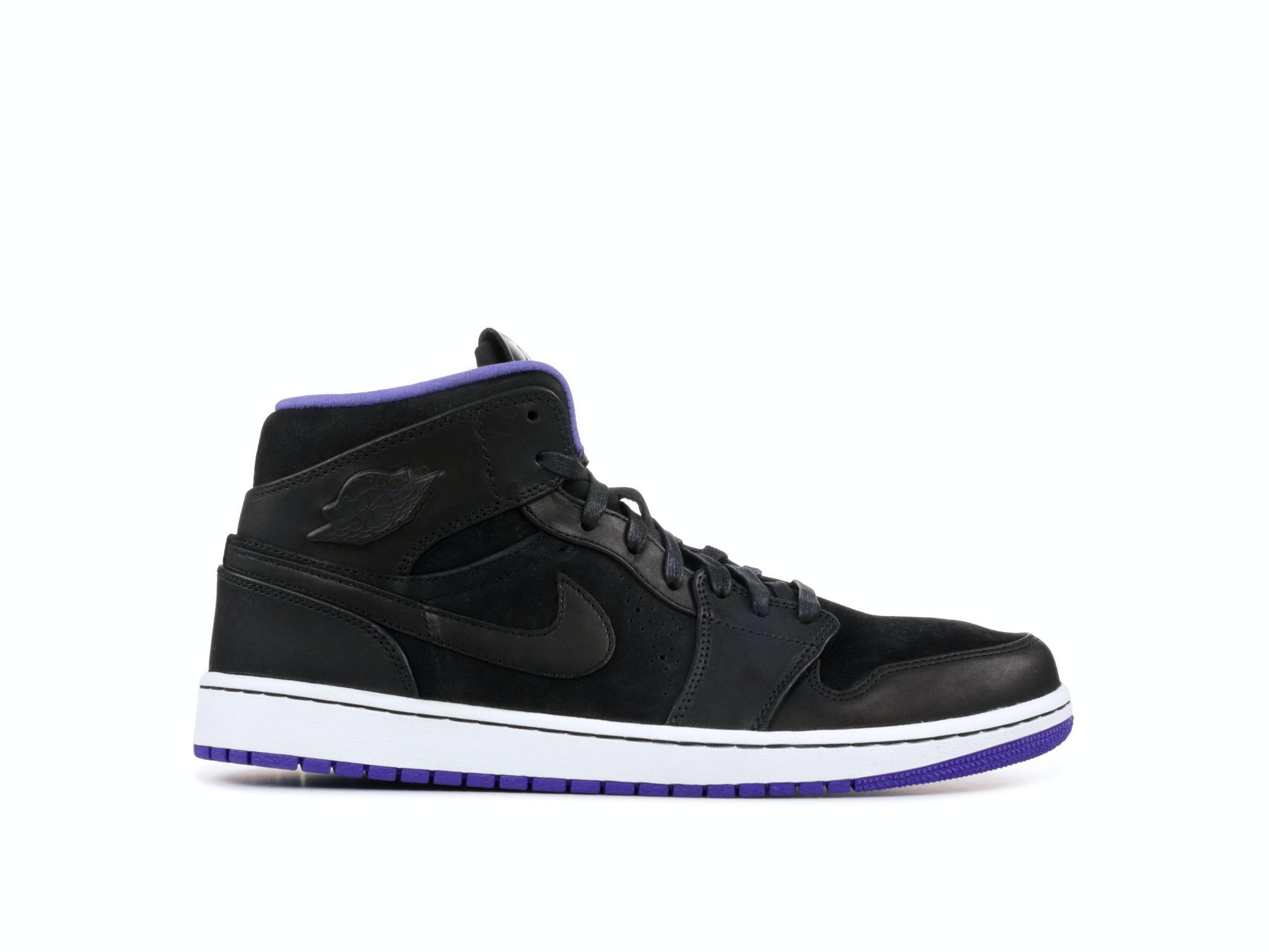 03baabef248 Shop Air Jordan 1 Mid Nouveau Dark Concord Online | Laced