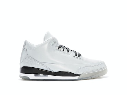Air Jordan 3 5Lab3 Reflective Silver