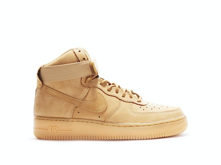 Air Force 1 High Premium Flax (W)