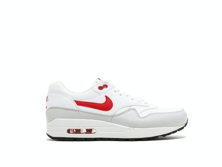 Air Max 1 Leather University Red