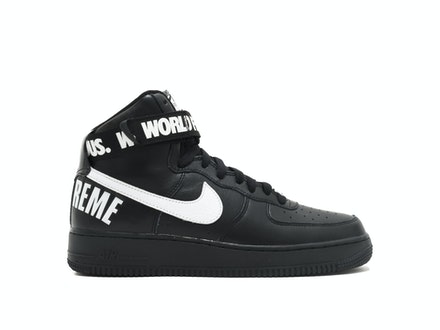 Air Force 1 High SP Black x Supreme