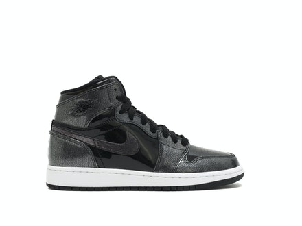 Air Jordan 1 Retro High GS Black Patent