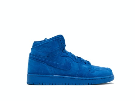 Air Jordan 1 Retro High GS Blue Suede