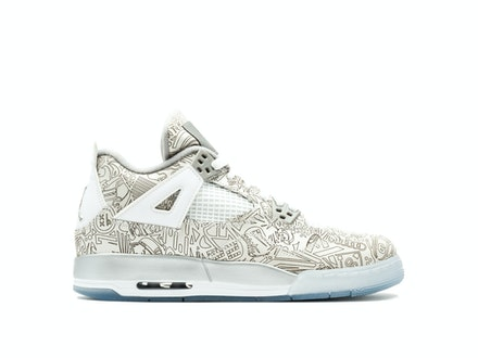 Air Jordan 4 Retro BG Laser