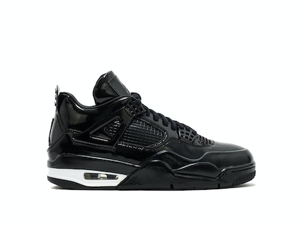 Air Jordan 4 Retro 11Lab4 Black Patent Leather