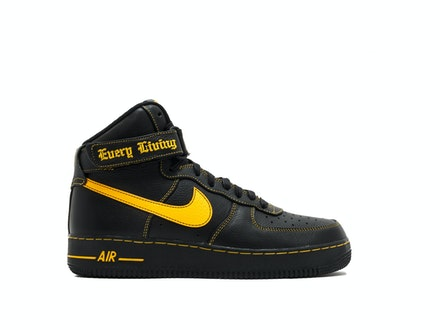 Air Force 1 High Vlone - University Gold