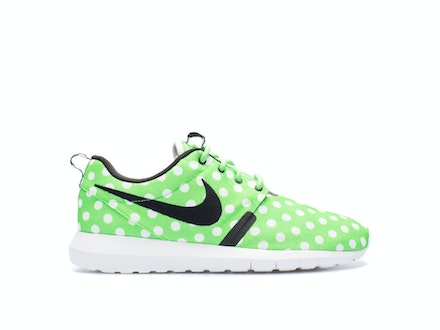 Roshe Run QS Polka Dot Green