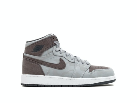 Air Jordan 1 Retro High Premium GS Wolf Grey