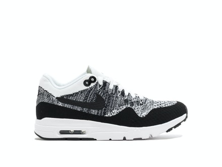 Air Max 1 Ultra Flyknit Oreo White (W)