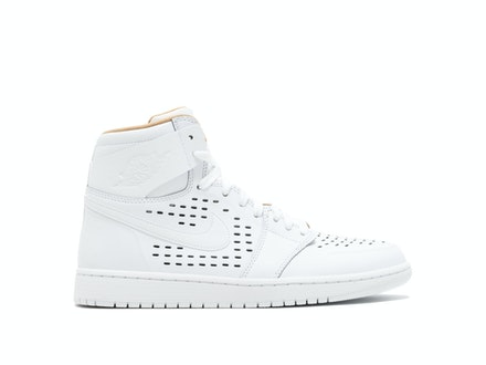 Air Jordan 1 Retro High White Vachetta Tan