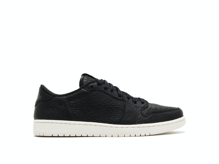 Air Jordan 1 Retro Low Swooshless Black